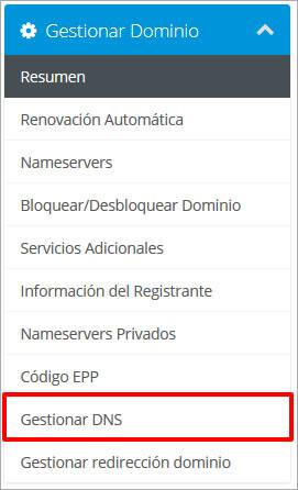 Renovacion automatica de un dominio